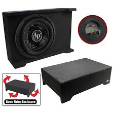 "Audiopipe APSBSP12BDF 12"" Loaded Sealed Enclosure 800 Watts Shallow Mount 4 Ohm"