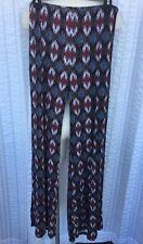 Forever 21 Women's Navajo Print Stretch Pants Large Boho Festival