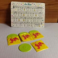 4 Vintage Jem and the Holograms Albums with Sleeve and Music Booklet