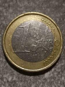Germany 1 Euro 2002 J Double Die/Struck