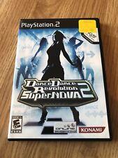 Dance Dance Revolution SuperNOVA 2 (Sony PlayStation 2, 2007) Game Only BT1