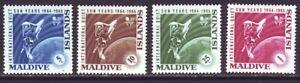 Maldives Islands 1965 SC 147-150 MNH Set Quiet Sun