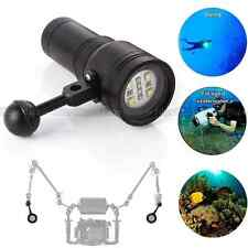 MK-13 2400LM 100m Diving Torch Light Underwater  LED Flashlight Lamp Equipment