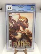 Black Panther 1 CGC 9.8 Artgem Variant Princess Shuri Cover