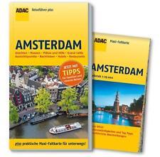 REISEFÜHRER Amsterdam 2014/15, ADAC plus, + großer Stadtplan 1:150 00, wie NEU