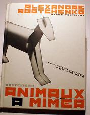 RODTCHENKO/S.TRETIAKOV/ANIMAUX A MIMER/ED MEMO/2010/SUPERBE/RUSSIE