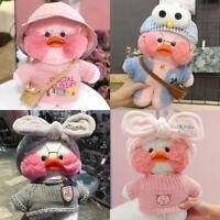 "30cm/12"" Lalafanfan Cafe Mimi Duck Stuffed Doll Plush Toy Xmas Kids Gift"