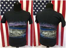 Vtg 90s San Francisco T-Shirt men's SMALL Vaporwave Aesthetic California 5035