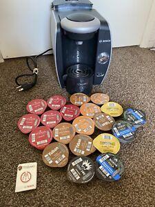 Bosch Tassimo Instant Coffee Maker Machine TAS1000UC Tea Latte Cappuccino Workin
