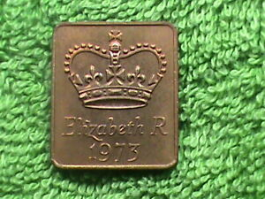 GREAT  BRITAIN   1973   PROOF SET   MEDAL  *