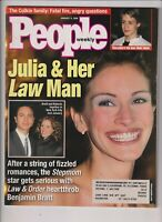 People Weekly Julia Roberts Benjamin Bratt January 11, 1999 110919nonr