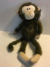 """First & Main Monty Monkey NEW 14"""" Plush Stuffed Animal"""