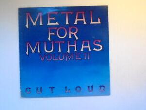 VARIOUS : METAL FOR MUTHAS VOL 2 1980 EMI EMC 3337 NM/VG+