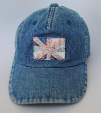NEXT One Size Strapback Denim Baseball Cap Hat Blue
