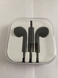 Black wired ear/air pod Headphones for Android/Samsung
