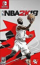 NBA 2K18 (Nintendo Switch, 2017) Brand New, Factory Sealed w/ bonus content!