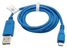 0,95m Micro USB Datenkabel für Smartphone Handy Tablet | Blau