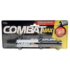 2  - COMBAT .01% FIPRONIL MAX GEL SYRINGE ROACH INSECT KILLER  30g (1.05oz)