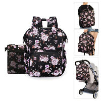 Mummy Maternity Diaper Nursing Bag LargeCapacity Baby Bag USB Travel Bag Handbag