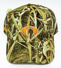New Men's Pukka Headwear Mossy Oak Shadow Camo Golf Hat Orange Co. National nwt