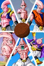 Dragon Ball Poster Majin Buu from Cocoon to Evil Kidd 12inx18in Free Shipping