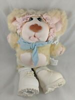 "Vintage Baby Furskins Thistle Bear Plush 15"" 1985 Coleco Stuffed Animal"
