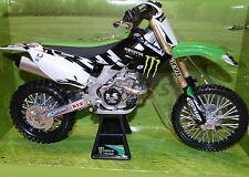 Kawasaki KX450F Monster Racing No1 2012 M1:6 49433 NewRay Die-Cast
