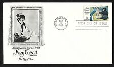 #1322  5c Mary Cassatt - Fleetwood FDC