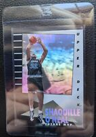 1992 93 UPPER DECK MVP #35 SHAQUILLE O'NEAL ROOKIE CARD ORLANDO MAGIC HOF HOLO