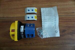 Rotary Switch Kraus & Naimer 40 AMP 600VAC 220-690V C26