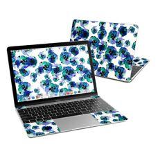Apple MacBook 12in Skin - Blue Eye Flowers by Claravox - Sticker Decal
