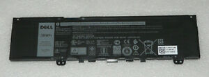 NEW GENUINE DELL INSPIRON 13 7370 7380 7386 5370 7373 2-in-1 BATTERY 38WH F62G0