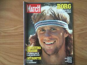 PARIS MATCH N°1521 21/07/1978 Borg Christina Onassis Beyrouth Zaïre  F120