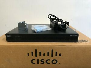 CISCO ISR4321/K9 Integrated Services Router w/Pwr Cord ios-16.9.4 NO CLOCK ISSUE