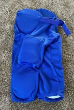 Riddell Youth 7 Pad Football Pants Royal Blue Ryppw New