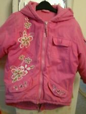 ♡ Filles Rose Barbie Manteau âgés de 5-6 ans ♡