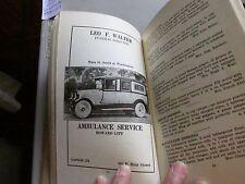 Vintage St. James Church Dayton Ohio Cookbook/ Advertising