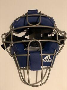 CA LA new Adidas Pro Issue Catchers Mask Blue D85023 Catcher Umpire Baseball MLB