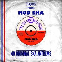 Various Artists : Trojan Presents... Mod Ska: 40 Original Ska Anthems CD 2