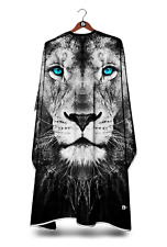 LION OF NIGHT BARBERS GOWN HAIR CUT/CUTTING HAIRDRESSING HAIRDRESSERS SALON CAPE