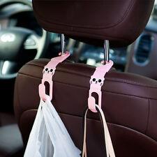 KFZ Kopfstütze Haken Auto Sitzlehne Halter Kleiderbügel Rücksitz Tüten Aufhänge#