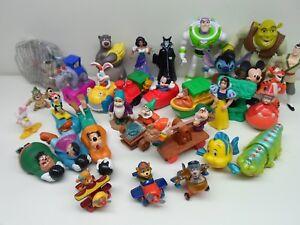 Disney Action Figures & Figurines McD Snow White Mulan Shrek Toy Story & More!!!