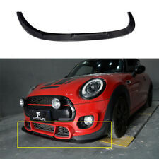 Carbon Fiber Front  Lip Spoiler Refit for BMW Mini JCW Challenge 14-18