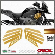 2x VFR 1200 X 2010 CROSSTOURER Gold Honda Wings STICKERS ADESIVI PEGATINA