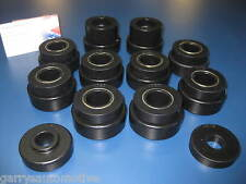 Body Cab Tub Mount Bushing Cushion Set Kit Frame 80-86 Jeep CJ5 CJ7 24102