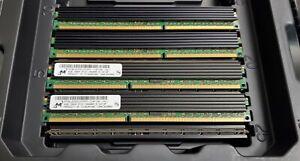 Lot of 4 Micron MT36JDZS51272PZ-1G4F1AD 4GB 2Rx4 PC3-10600R 1333MHz VLP REG MEM