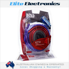 BOSS AUDIO KIT-10 4 AWG 2-CHANNEL AMPLIFIER WIRING INSTALLATION KIT AMP KIT10