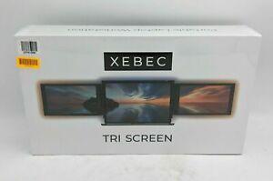Xebec Tri-Screen Monitors Portable Laptop Workstation - SB3258