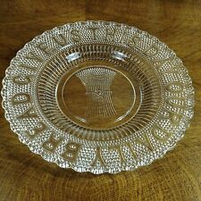 """Gorgeous Give Us This Day Our Daily Bread Plate """"Wheat Sheaf"""",  10"""" Reproduction"""