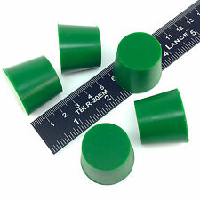 "(5) 1.031"" x 1.25"" #6 High Temp Silicone Rubber Powder Coating Plugs Cerakote"